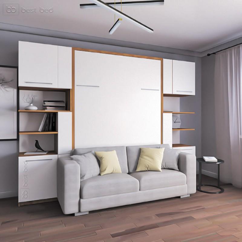 Шкаф-кровать с диванчиком