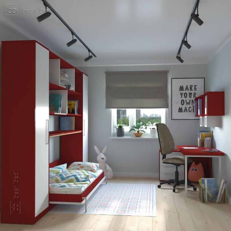 Шкаф-кровать горизонтальная